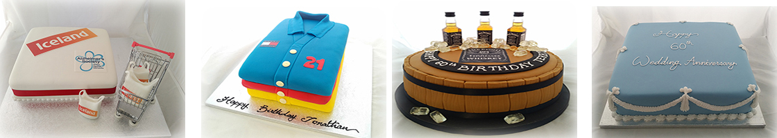 We can supply birthday cakes, corporate cakes and wedding cakes for Beckenham, Hayes, Downham, Croydon, Orpington, Bexley, Keston and Morden.